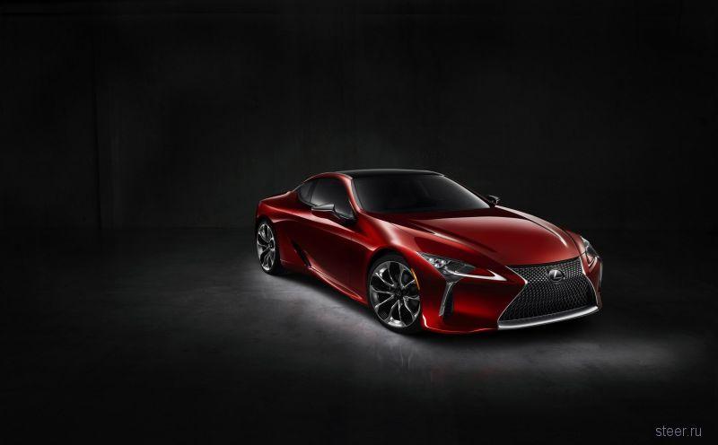 Купе Lexus LC500 будет продаваться по цене 7,8 млн рублей