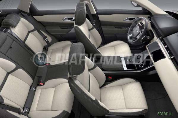 Первые изображения нового кроссовера Range Rover Velar
