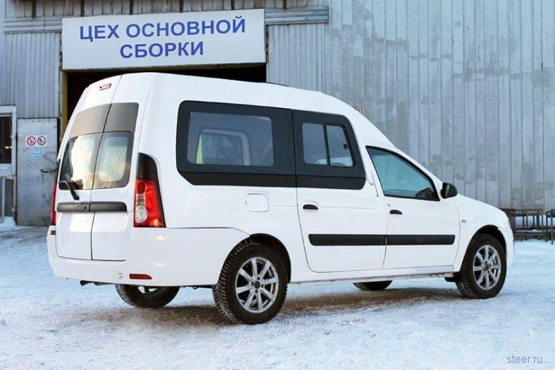 Минивэн из Lada Largus за миллион рублей