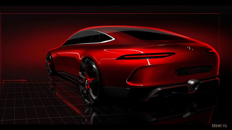 Mercedes-Benz показал профиль конкурента Porsche Panamera