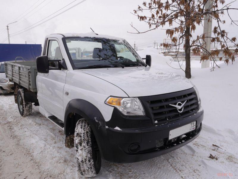 Началось тестовое производстве нового УАЗ Cargo