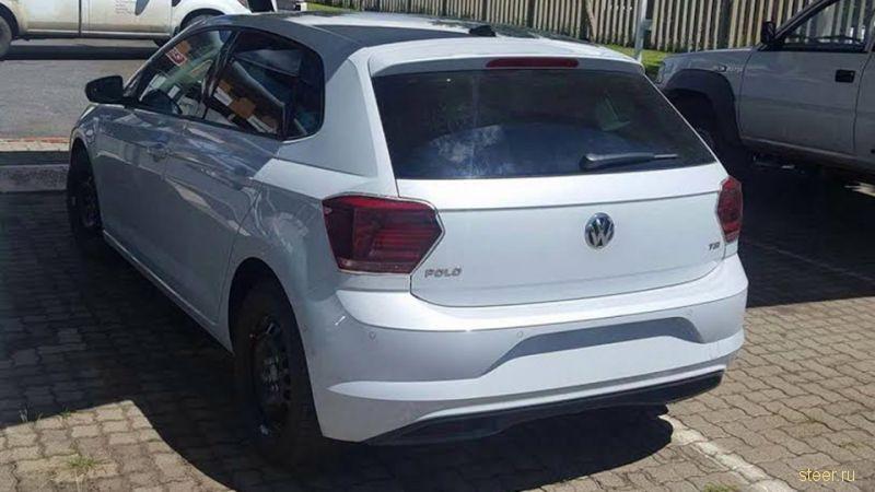 Первые фото нового Volkswagen Polo без камуфляжа