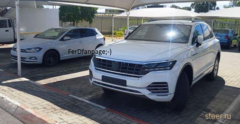Первые фото нового поколения Volkswagen Touareg