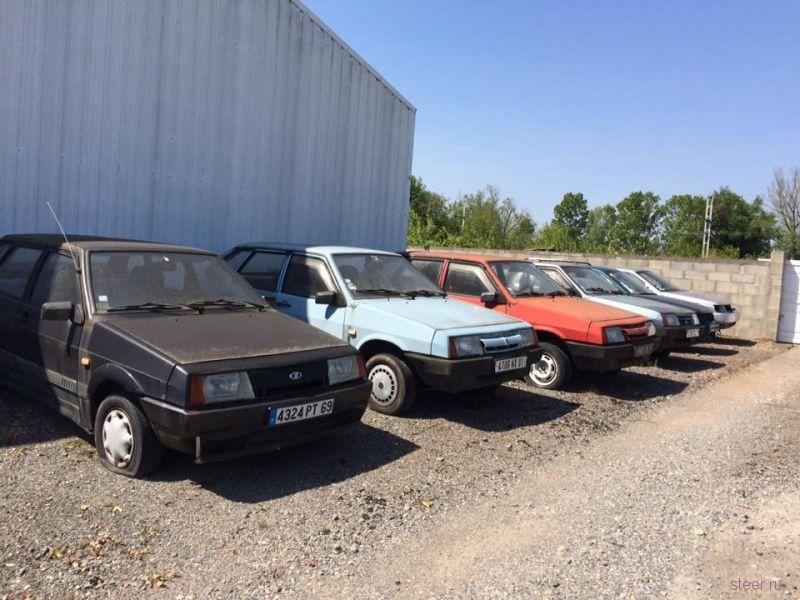 Во Франции обнаружили заброшенный дилерский центр Lada