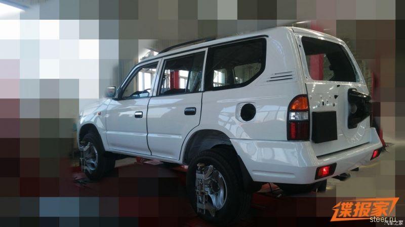 Китайцы готовят рестайлинговую версию копии Toyota Land Cruiser Prado 90-х годов