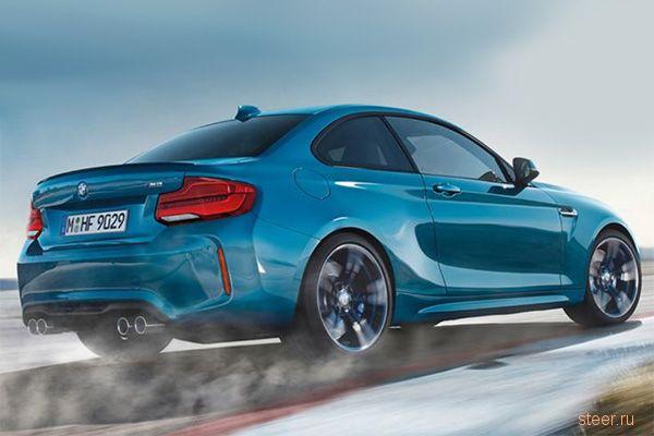 Первые фото обновленного купе BMW M2