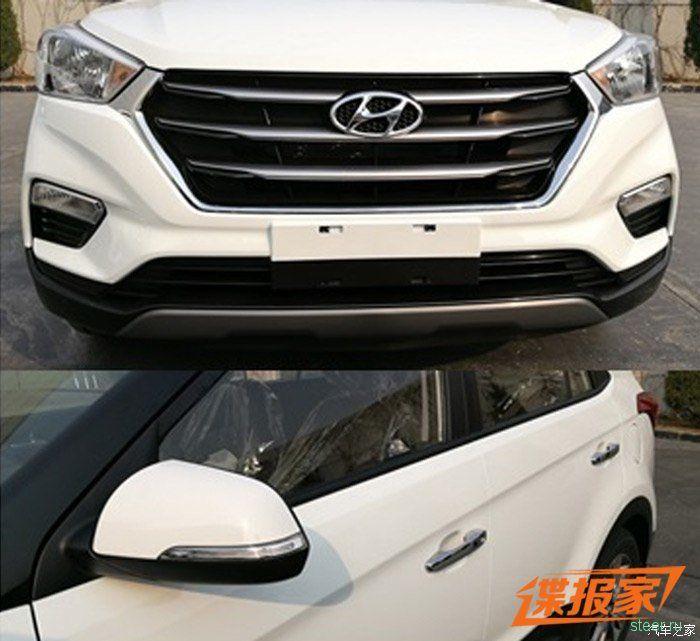 В Китае показали рестайлинговую Hyundai Creta