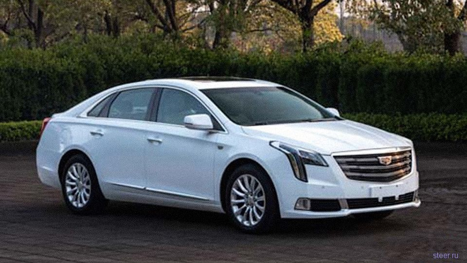 Первое фото нового Cadillac XTS