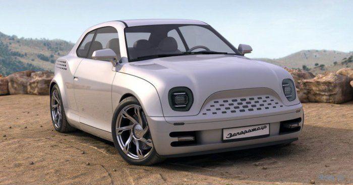 ЗАЗ-965: как может выглядеть новая модель «Запорожца»