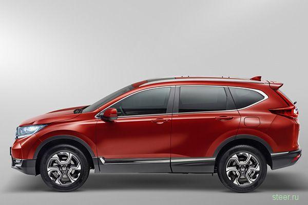 «Хонда» назвала рублевые цены на новый CR-V