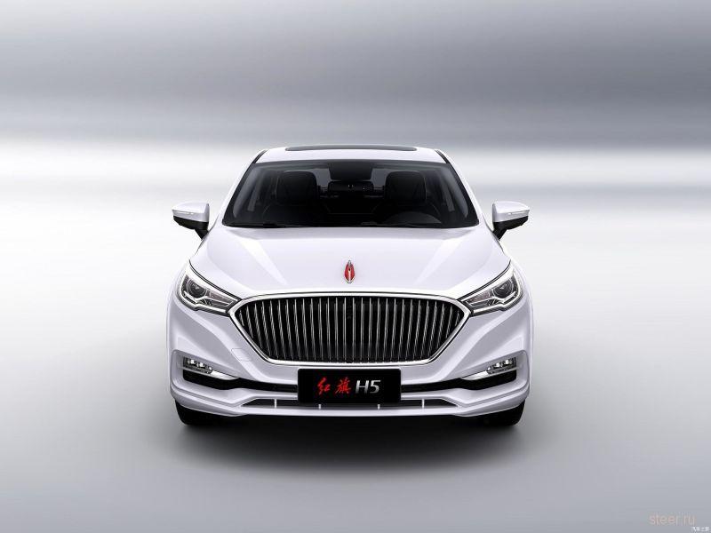 FAW Hongqi H5 : новый седан на базе Mazda6