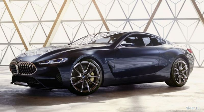 Первые фото нового BMW 8 серии