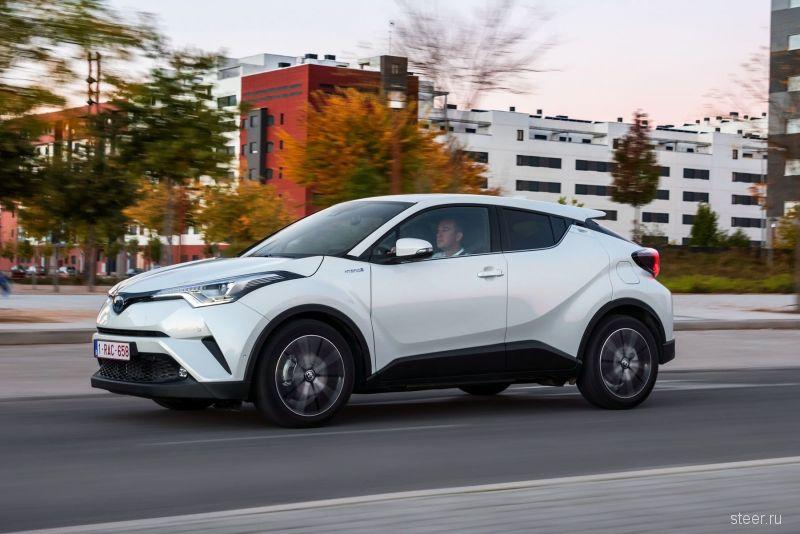 Toyota C-HR будет стоить 2 млн рублей?