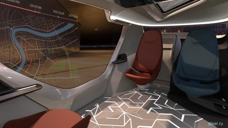 Saab показал концепт автомобиль будущего