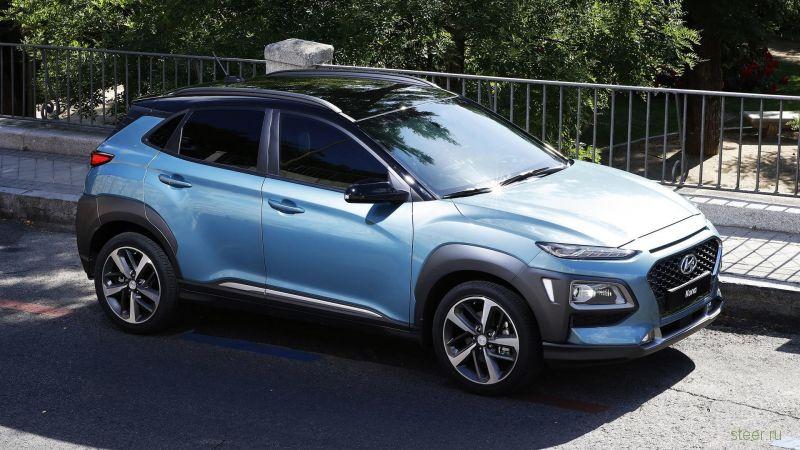 Новый кроссовер Hyundai Kona удивил всех своим дизайном