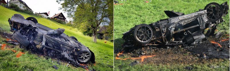 Ричард Хаммонд попал в страшную аварию: машина полностью сгорела