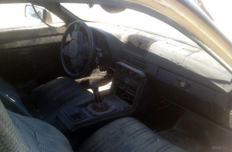 В Казахстане по программе утилизации старых автомобилей владелец сдал Porsche 924 1985 года выпуска