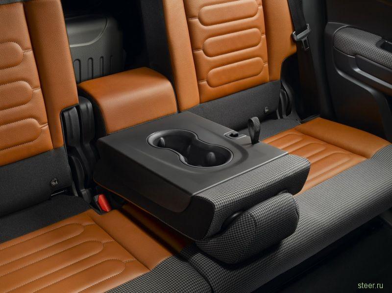 Официально представлен компактный кроссовер Citroen C3 Aircross