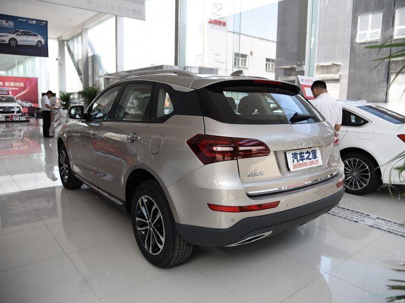 Китайская компания Zotye начала продажи компактного кроссовера T600 Coupe.