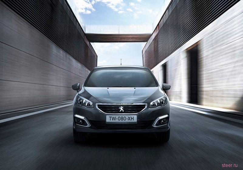 Обновленный седан Peugeot 408 : от 949 000 рублей