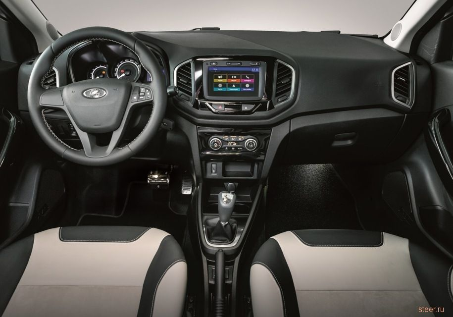 Lada XRAY Exclusive : экокожа и алькантара за 830 000 рублей