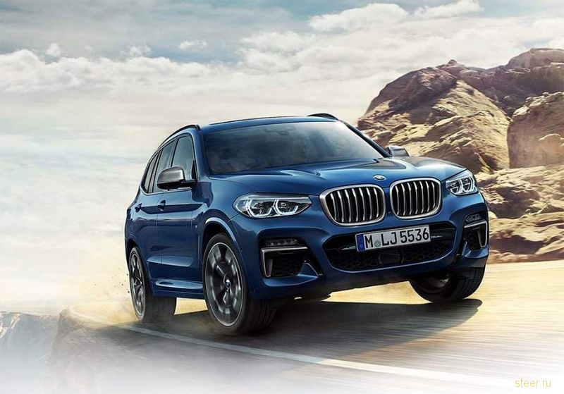 Первые фото нового BMW X3