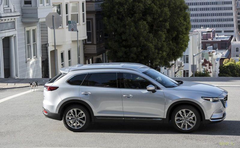 Mazda CX-9 может продаваться в России уже осенью от 3 млн рублей