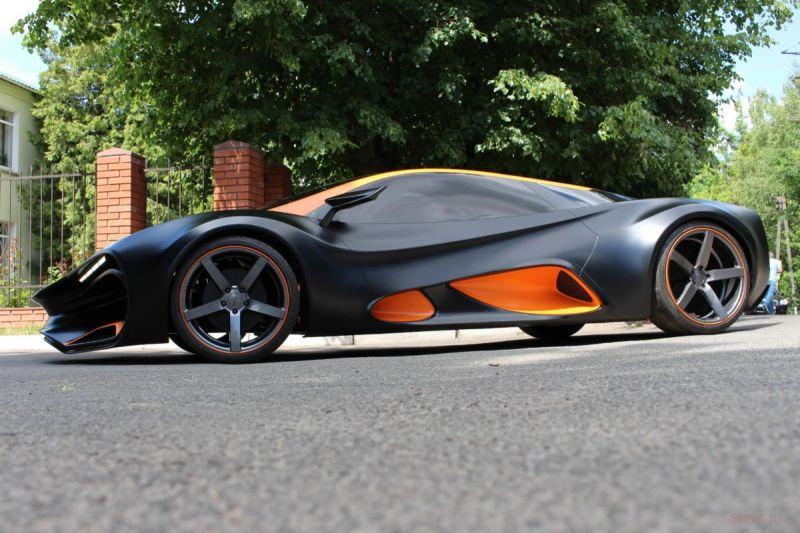 На создателей «первого украинского суперкара» подадут в суд за плагиат дизайна
