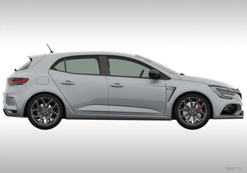 Первые изображения нового Renault Megane RS