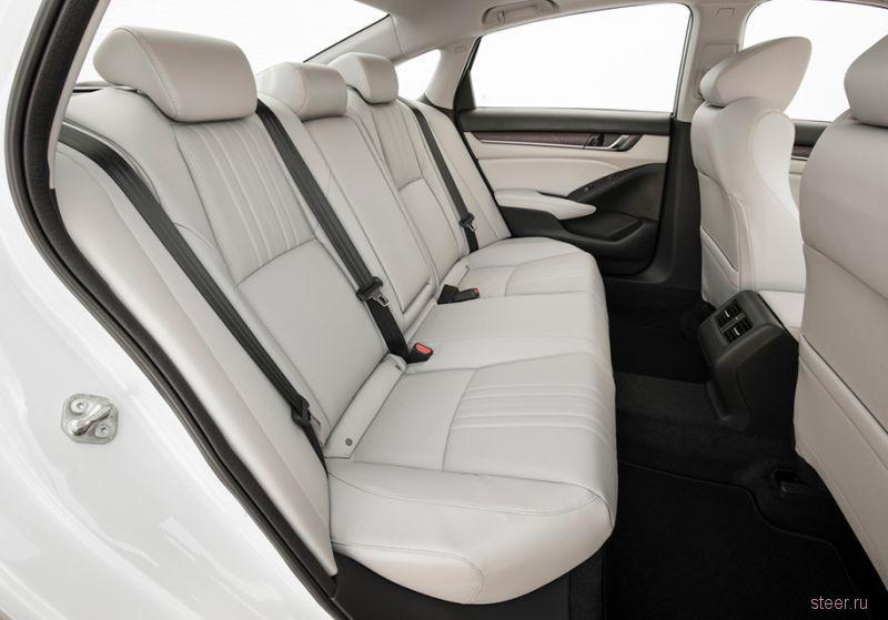 Новое поколение Honda Accord представлено официально