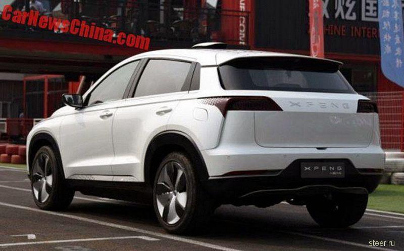 Китайский электрический паркетник XPeng Identity X появится уже в этом году