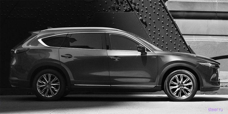 Mazda показала новый кроссовер CX-8