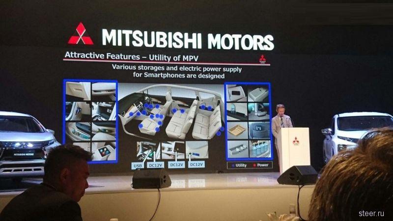 Mitsubishi сделает новый компактный минивэн Expander