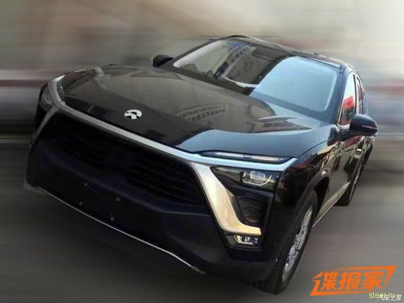 Первые фото серийной версии китайского конкурента Tesla Model X