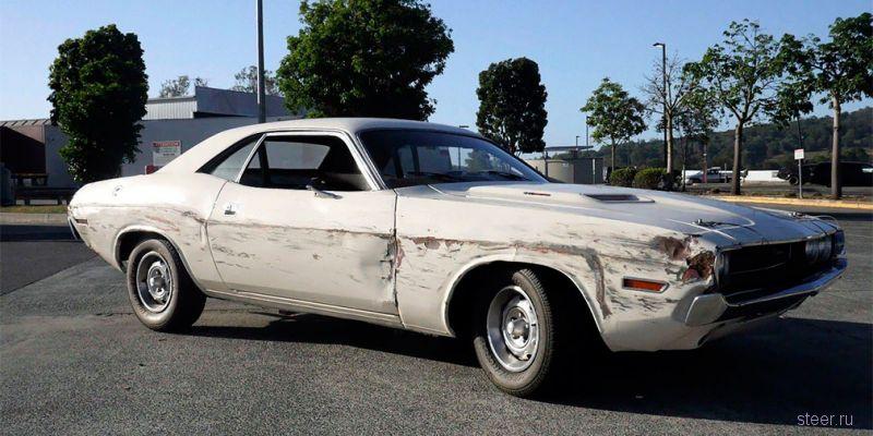 Dodge Challenger 1971 из фильма «Доказательство смерти» выставили на аукцион