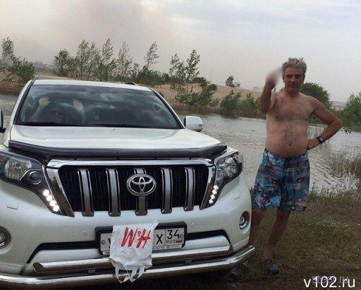 Отдыхающие из Волгоградской области просят наказать хулигана на внедорожнике