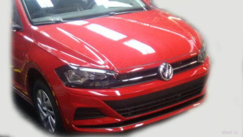 Первые фото нового Volkswagen Virtus.