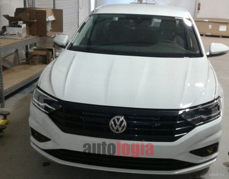 Первые фото нового Volkswagen Jetta