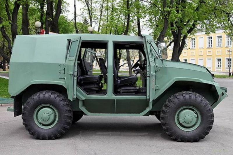 Представлен новый российский броневик Торос