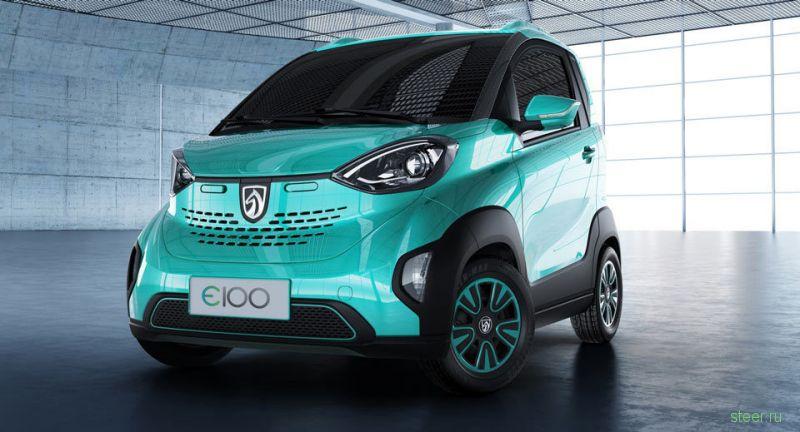 Baojun E100 : самый дешевый электрокар в мире