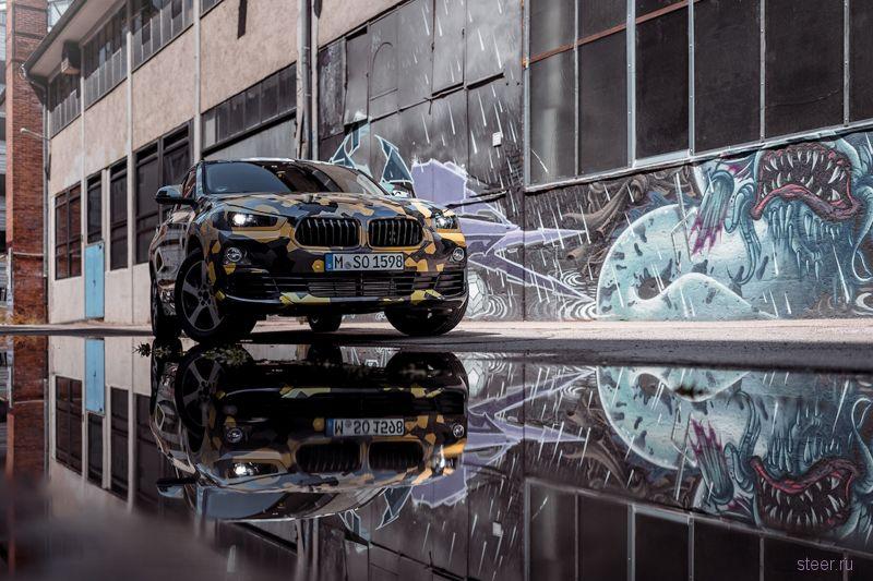 Первые фото кроссовера BMW X2