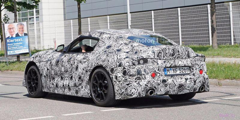 Toyota начала финальные испытания новой Supra