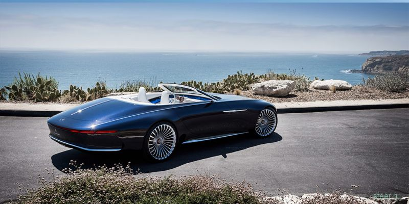 Mercedes-Maybach представил электрический кабриолет Mercedes-Maybach Vision 6
