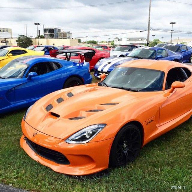 Последний Dodge Viper сошел с конвейера завода Chrysler