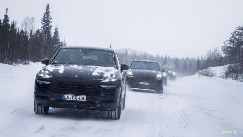 Новый Porsche «Кайенн» покажут 29 августа