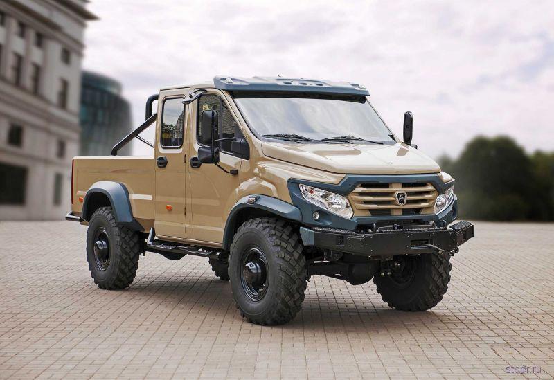 ГАЗ представил внедорожный пикап «Вепрь-Next»