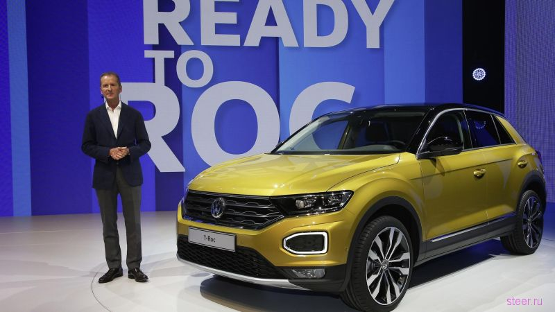 Volkswagen официально представил новый кроссовер T-Roc