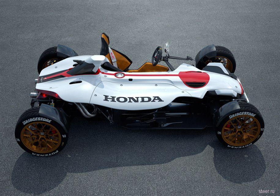 «Хонда» запатентовала «парящую» приборную панель