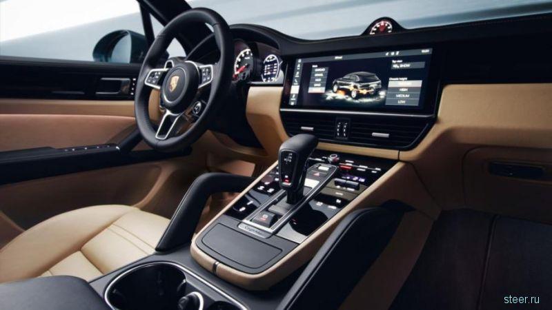 Первые фото нового Porsche Cayenne