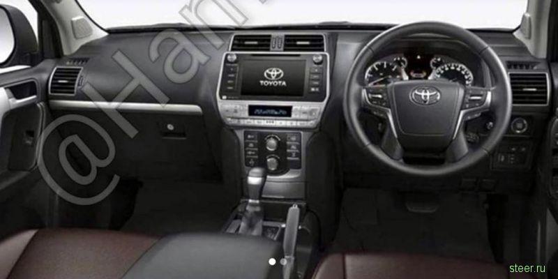 В Японии началось производство обновленного Toyota Land Cruiser Prado